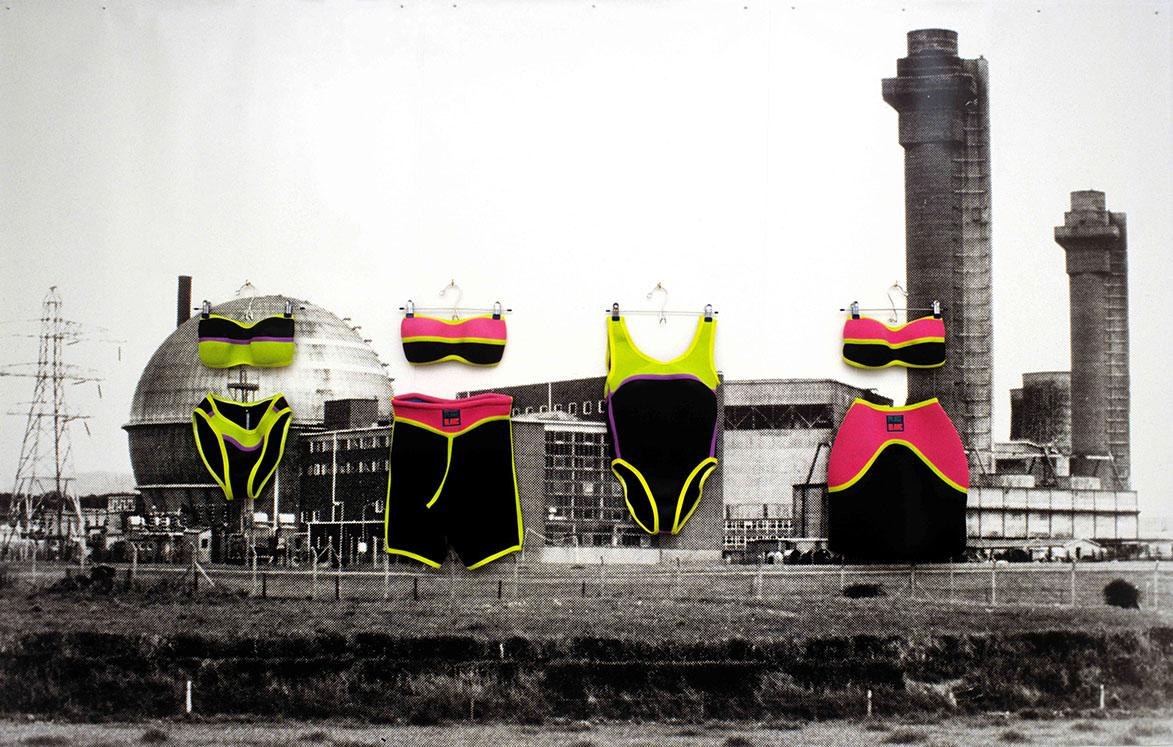 Art in Ruins. 'Sellafield - Plage Blanc' 1989