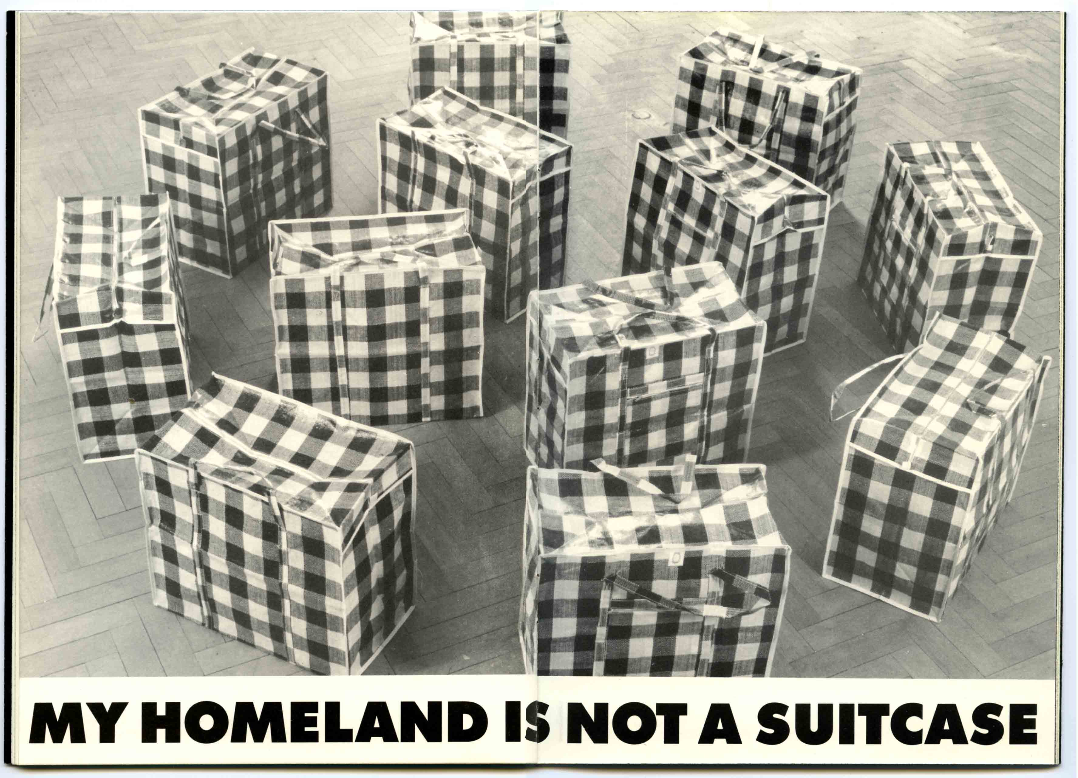 'MY HOMELAND IS NOT A SUITCASE' Circulation and Appearances 1991-2015  works, exhibitions, publications, reviews pdf download