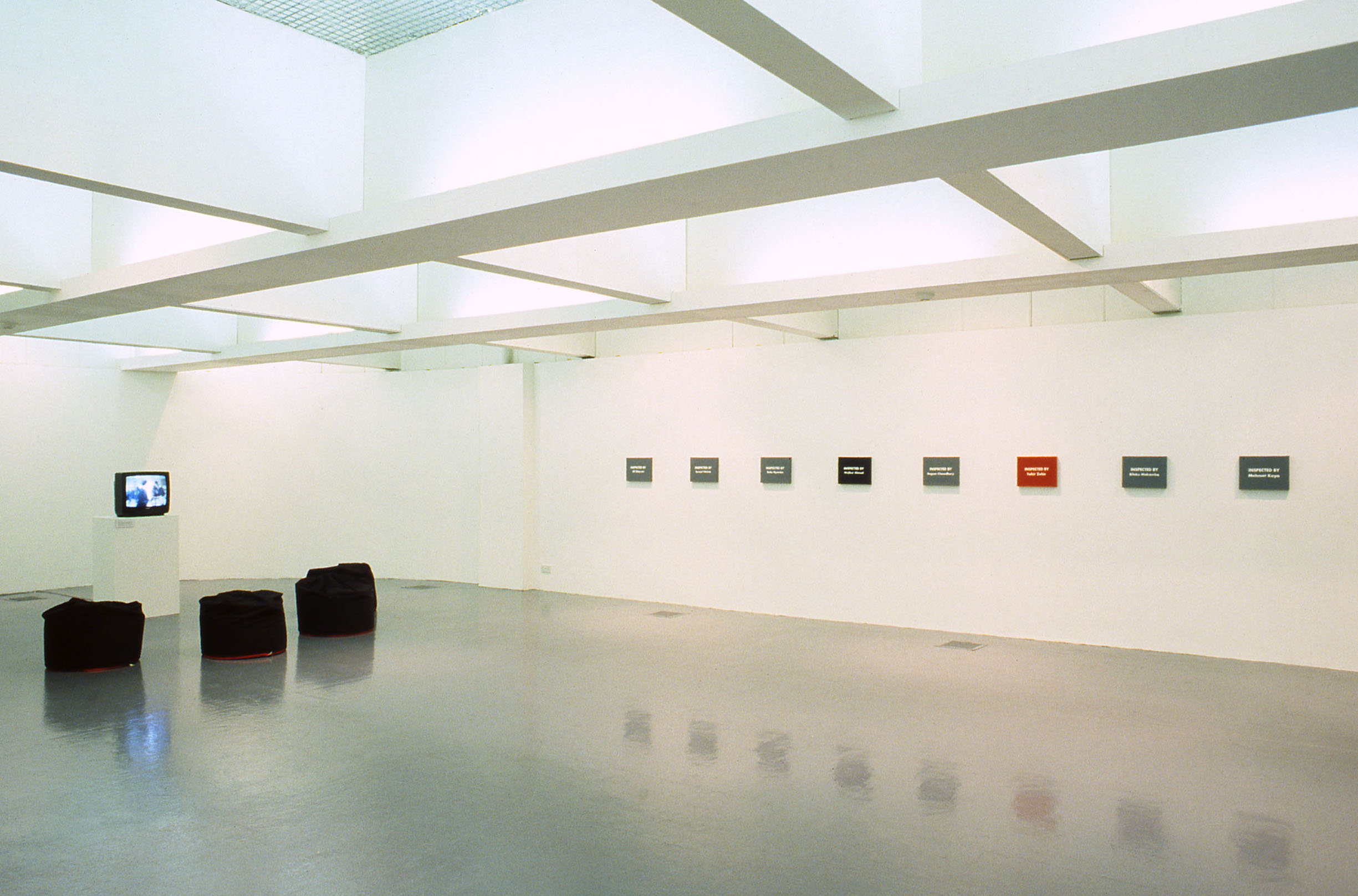 APPEARANCES ARE AGAINST US Art in Ruins Installation View John Hansard Gallery Southampton 2000
