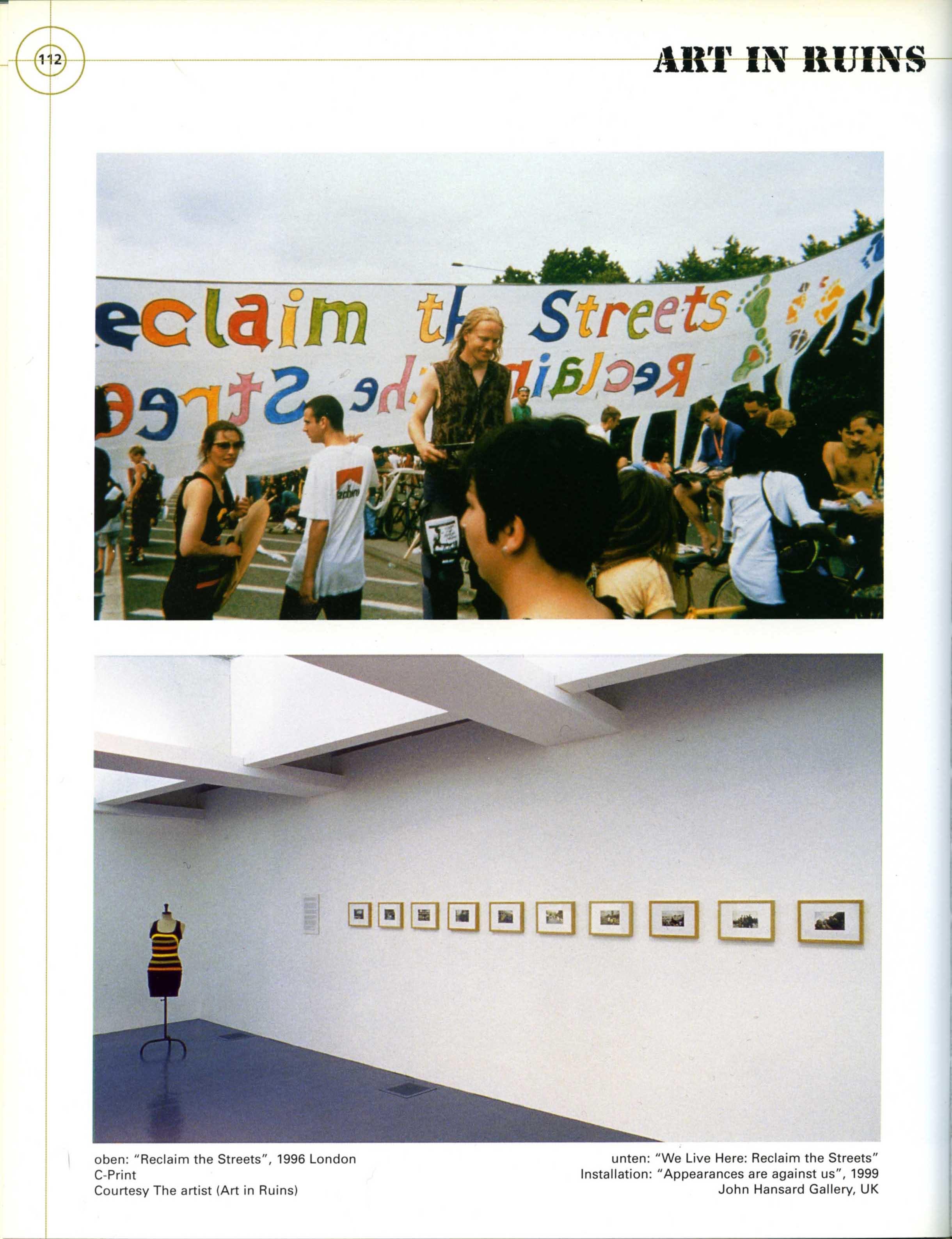 M_ARS: KUNST UND KRIEG Neue Galerie am Landesmuseum Joanneum  Graz 2003 Catalogue page