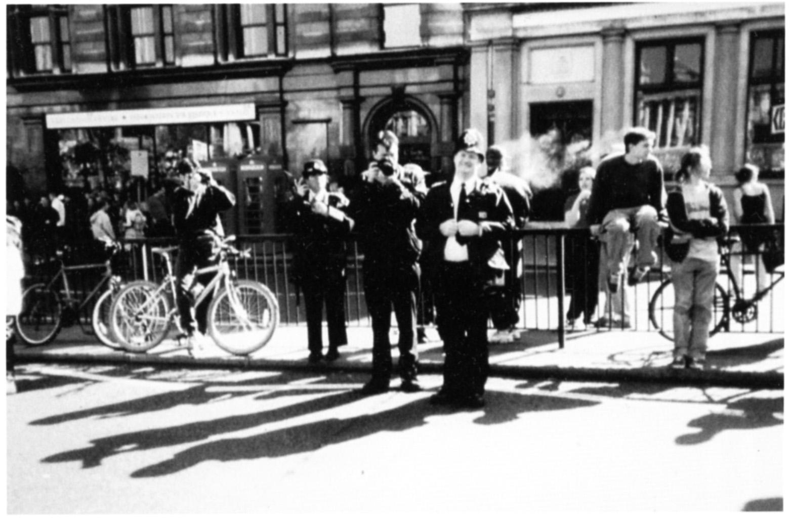 Police at 'J18' 'Carnival Against Capitalism' London 18 June 1999