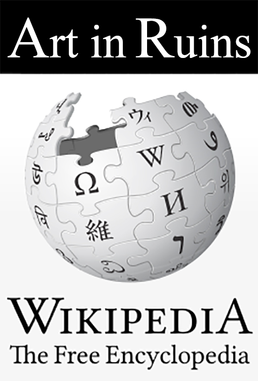 wikipedia art in ruins