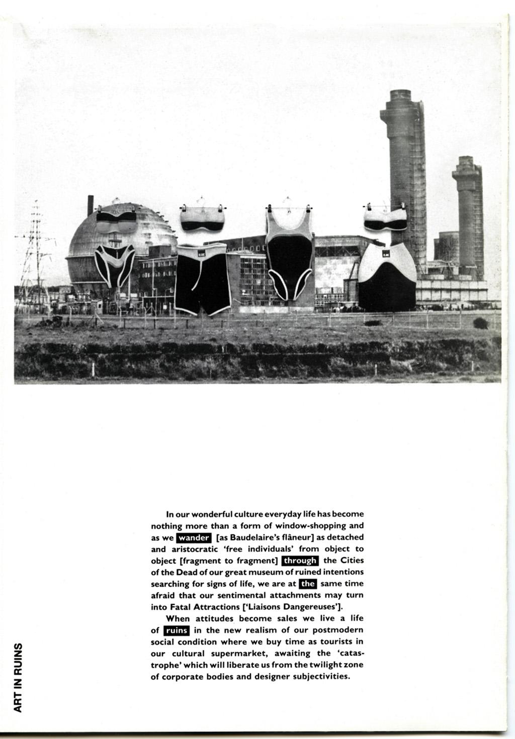 Recent History Brochure: Art in Ruins