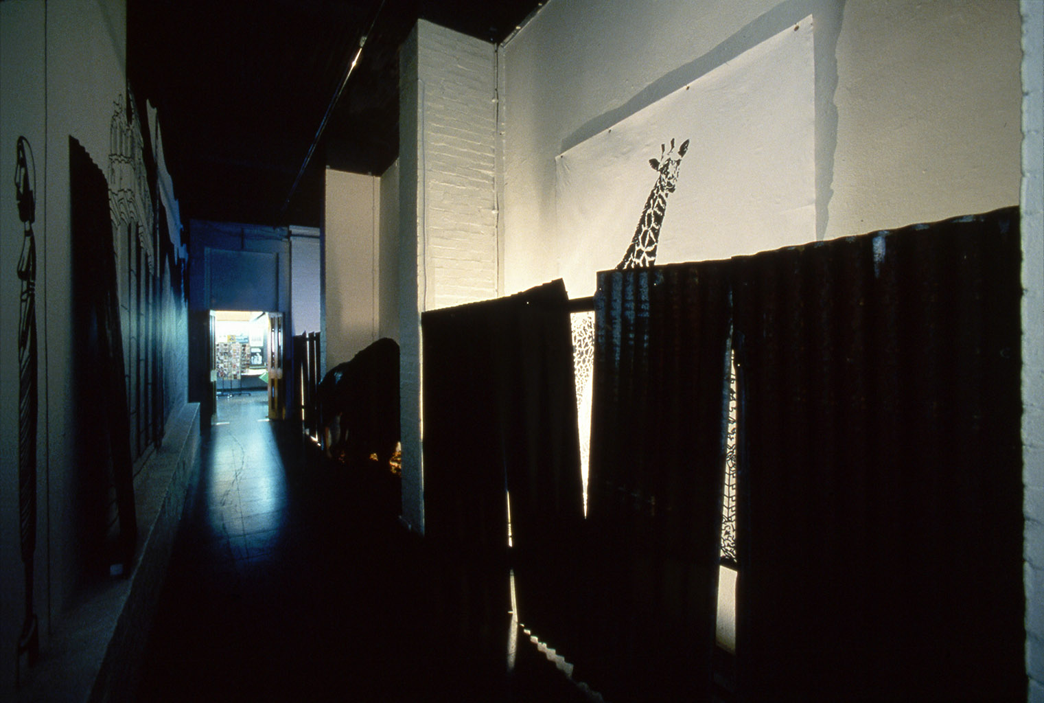 LIES IN RUINS Institute of Contemporary Arts London 1986 Installation View