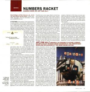 Numbers Racket: Art for All? pdf download
