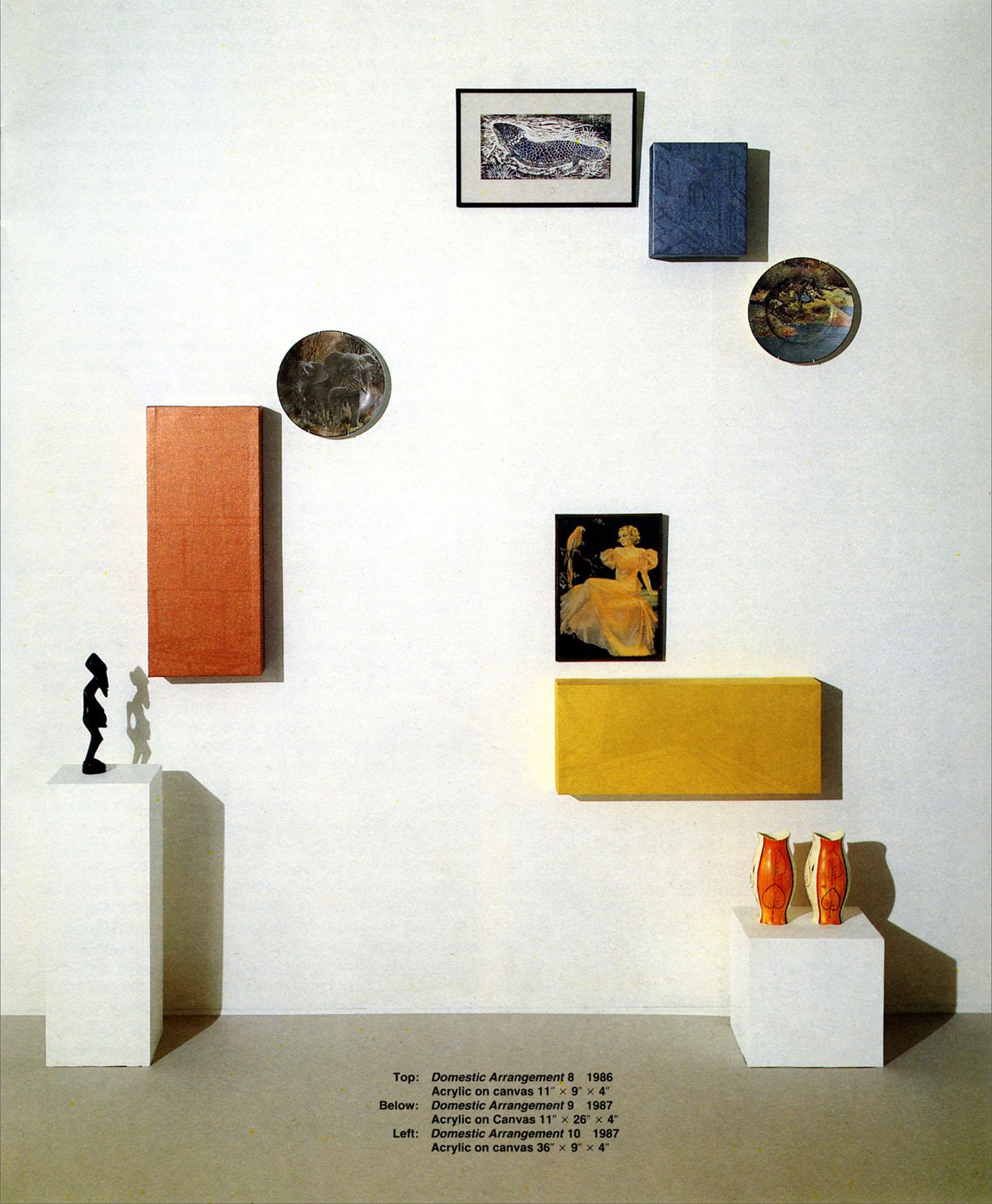 Domestic Arrangements - New Realism Catalogue
