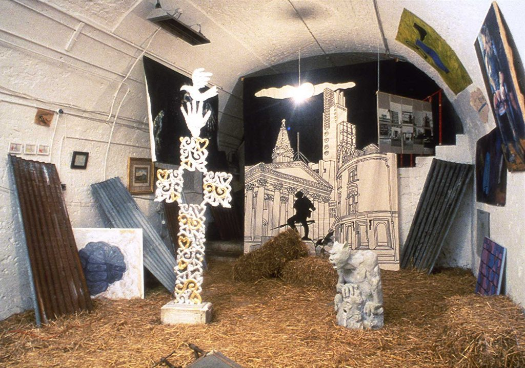 Our Wonderful Culture: Art in Ruins. Installation View #5