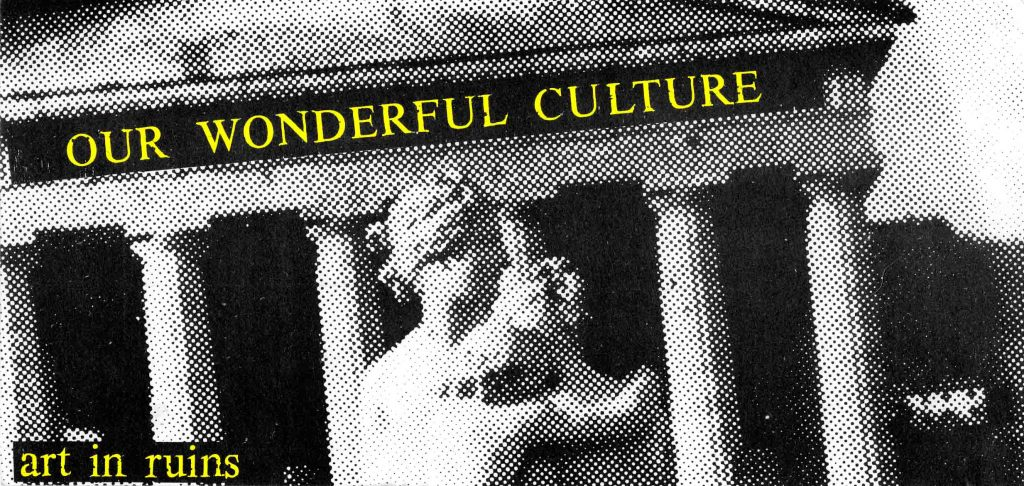 Our Wonderful Culture_Invitation: Front