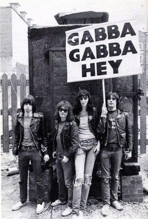 The Ramones Gabba Gabba Hey