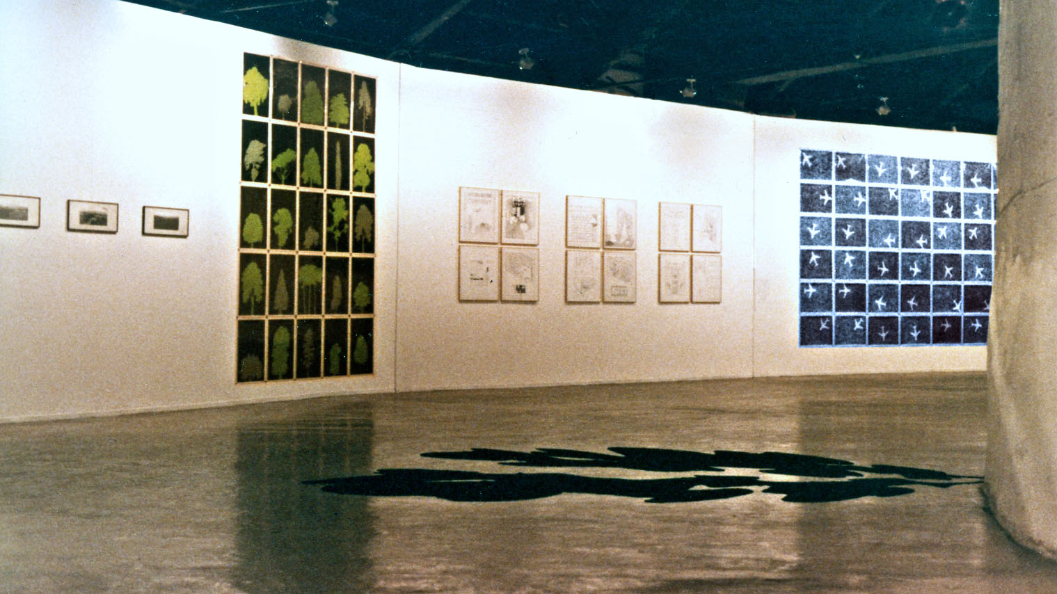 Work from Common Knowledge, Roundhouse Gallery, London 1982