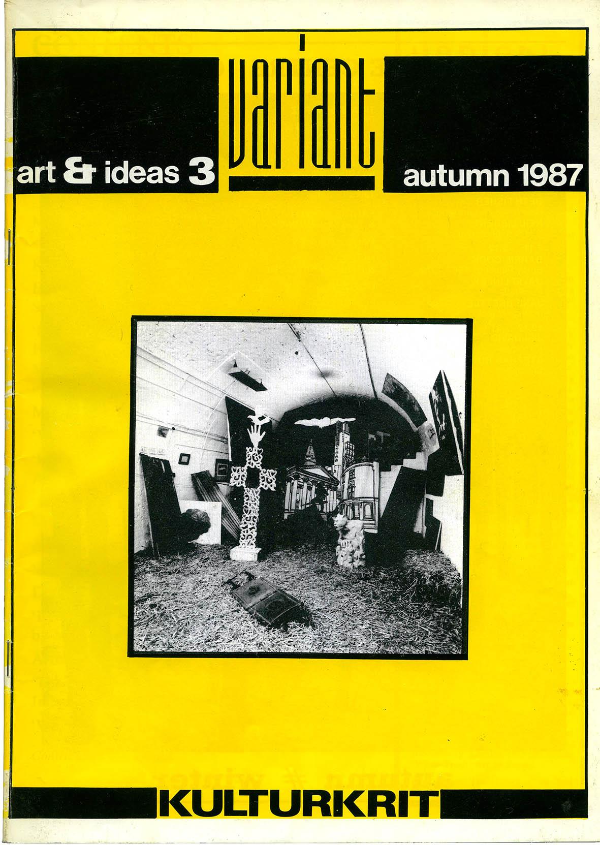 Variant Cover: Autumn 1987