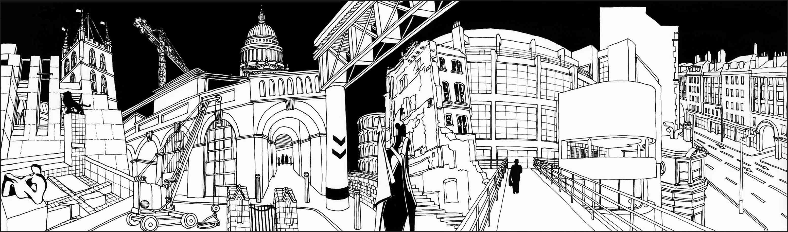 Drawing from Cities of the Dead: From the Ruins