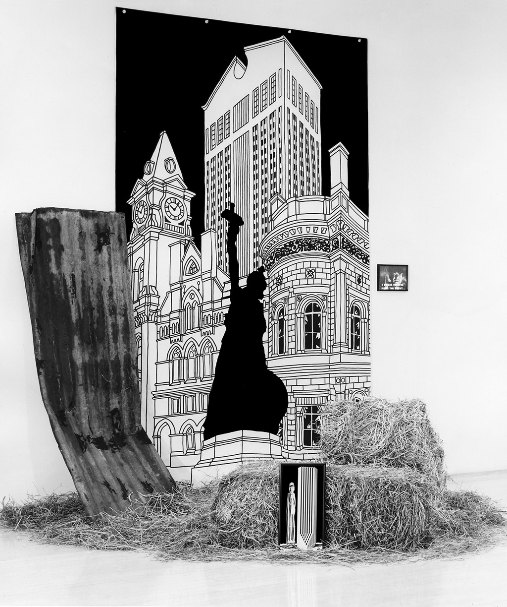 Drawing From Cities of the Dead with Monument to the Living
