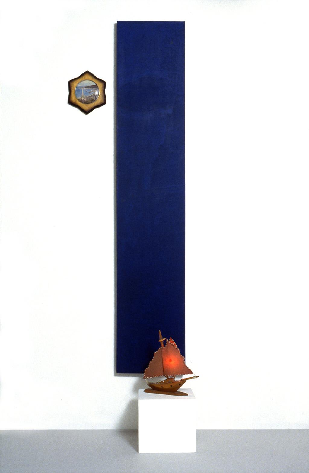Domestic Arrangement 13 (Infinitely Blue) 1987