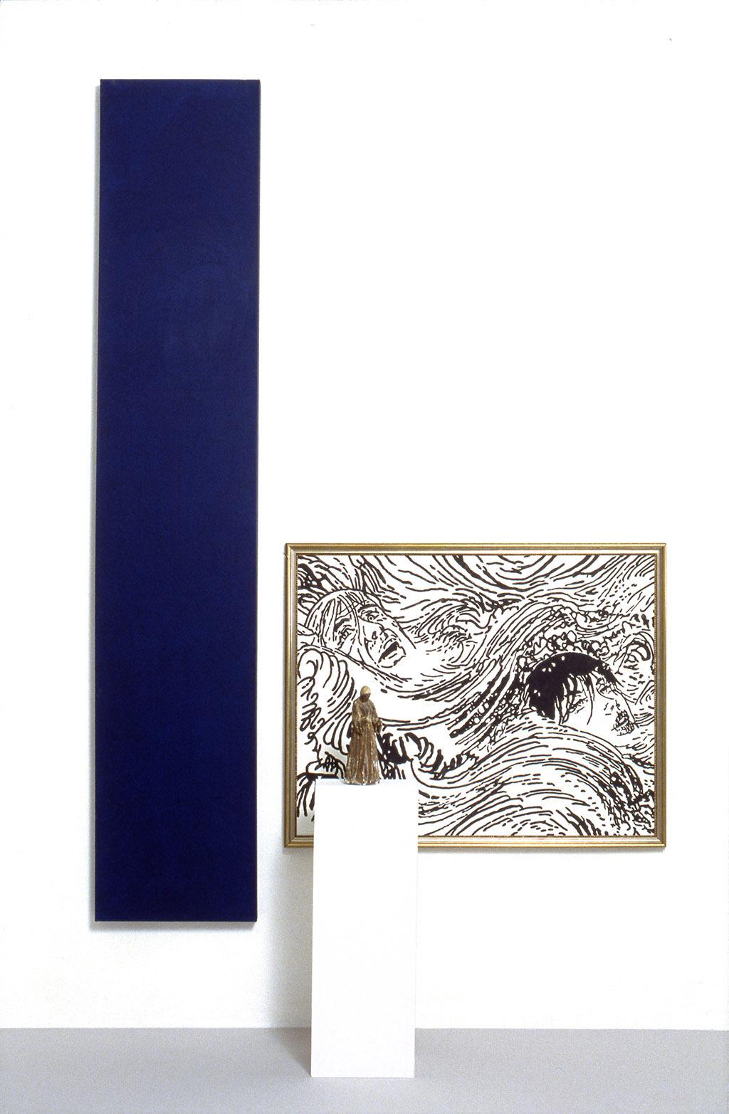 Domestic Arrangement 14 (Infinitely Blue 2) 1987