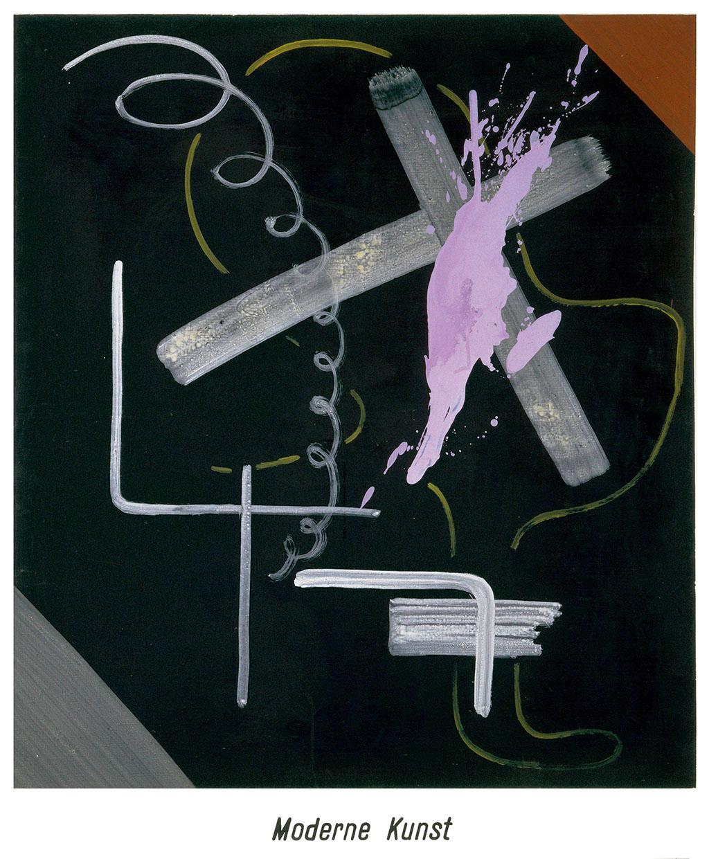 Modern Art (Moderne Kunst) 1968 Sigmar Polke