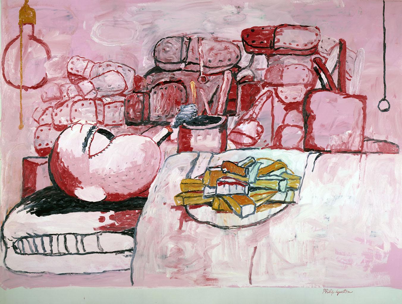 Painting, Smoking, Eating 1973 Philip Guston