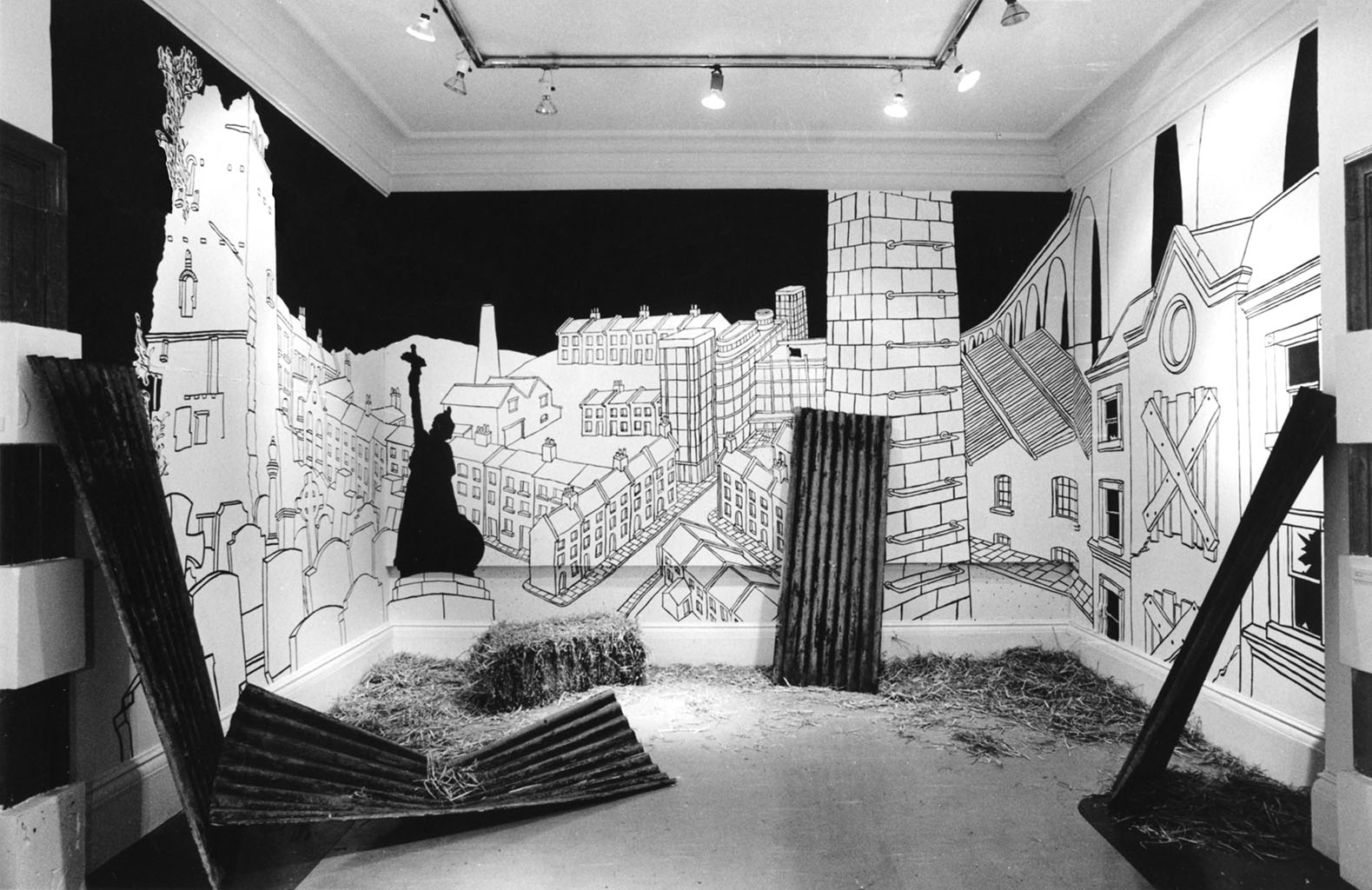 Drawing from Cities of the Dead: Try Another World  Battersea Arts Centre London 1984