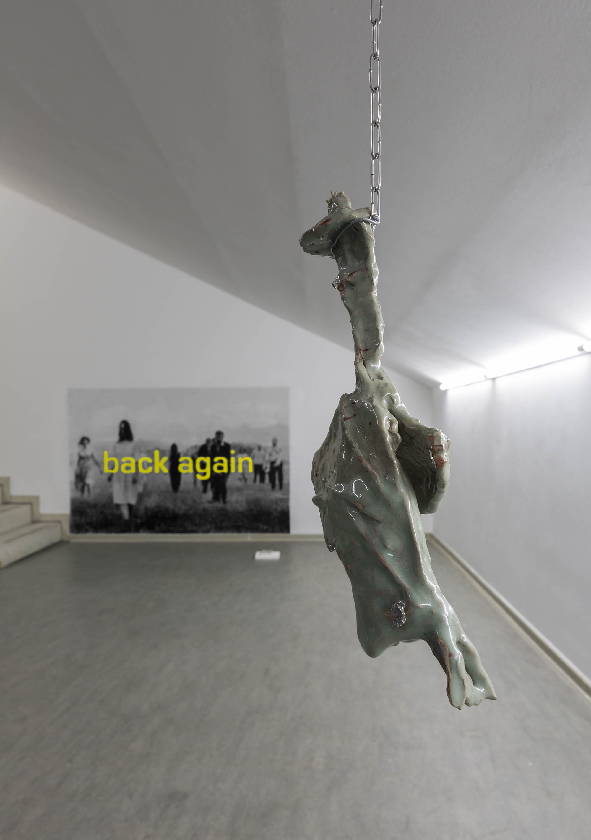 Back Again. Art in Ruins xxy Kunstraum Berlin 2019 Photo: Matthias Bildstein