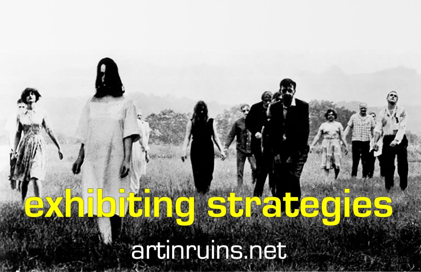 exhibiting strategies Art in Ruins 2019