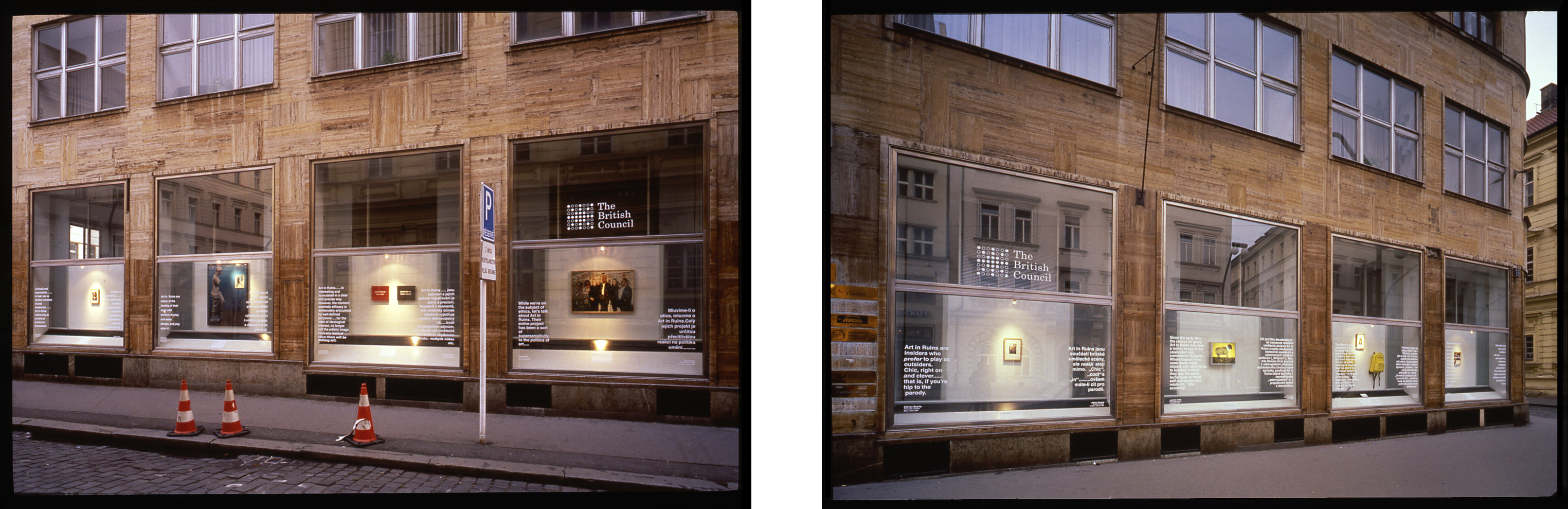 Double-Take Street Views Windows Gallery Prague 2000