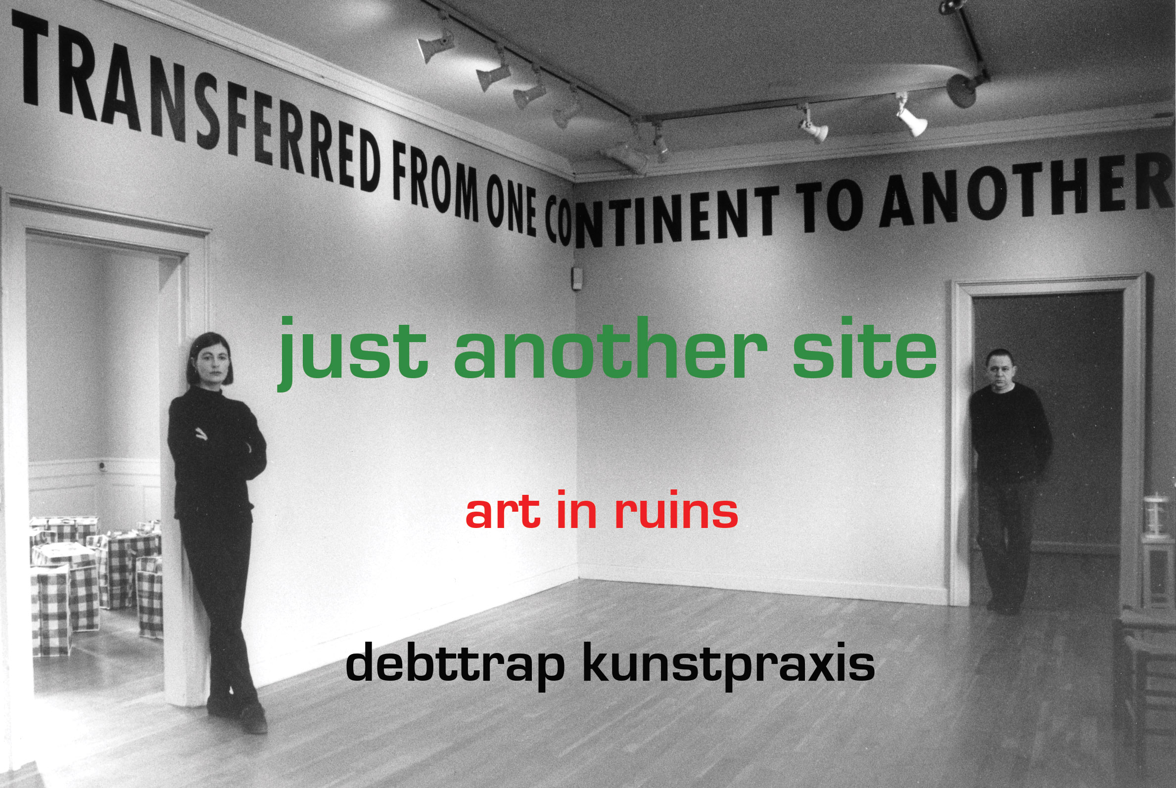 debt trap kunst praxis