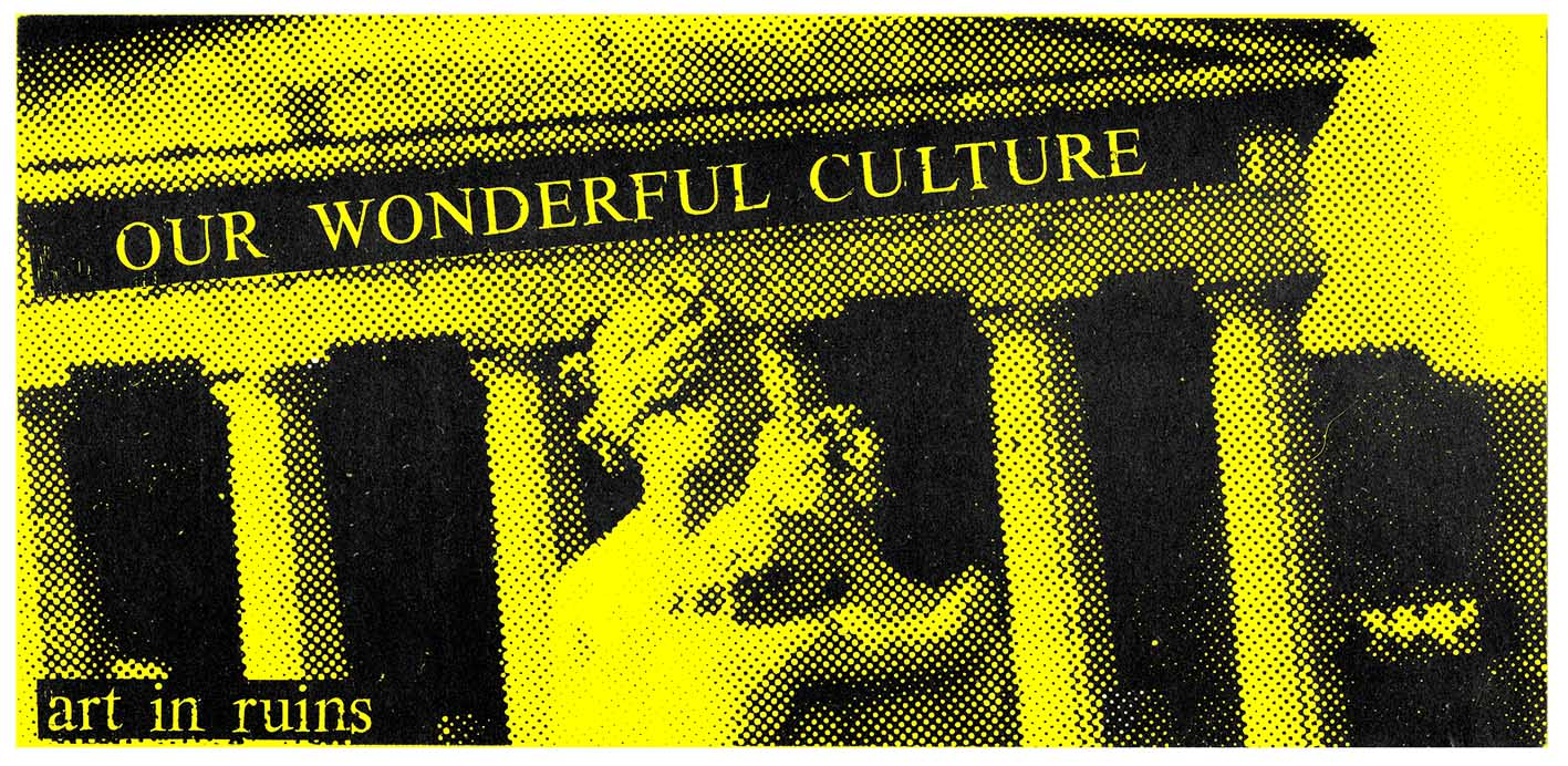 our wonderful culture: Art in Ruins review  pdf download