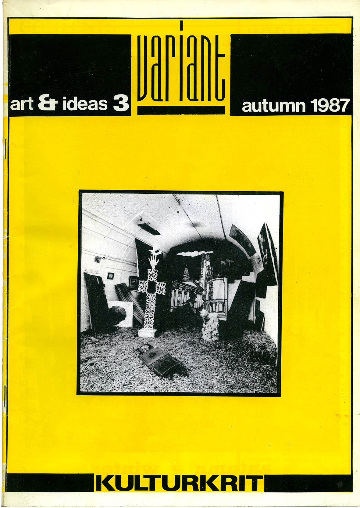 White Trash: Art in Ruins   Cover feature by Malcolm Dickson Variant  No 3  Autumn 1987 pdf download