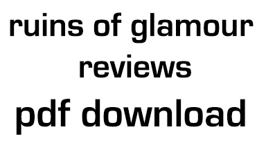 Ruins of Glamour, Glamour of Ruins_Reviews Chisenhale Gallery, London 1987