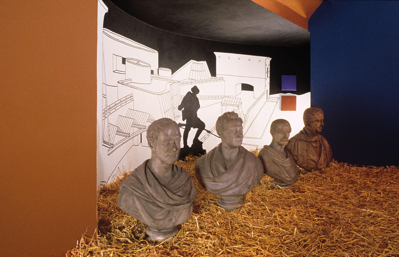 Art in Ruins. 'OVERSITE' Talbot Rice Art Centre  Edinburgh 1988